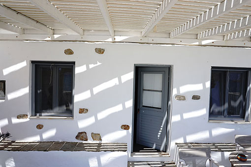 The apartment of Notos in Sifnos