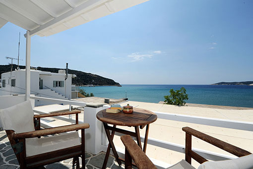 Sea view from Notos rooms in Sifnos